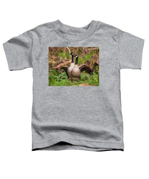 Mating Pair Guarding The Nest Toddler T-Shirt