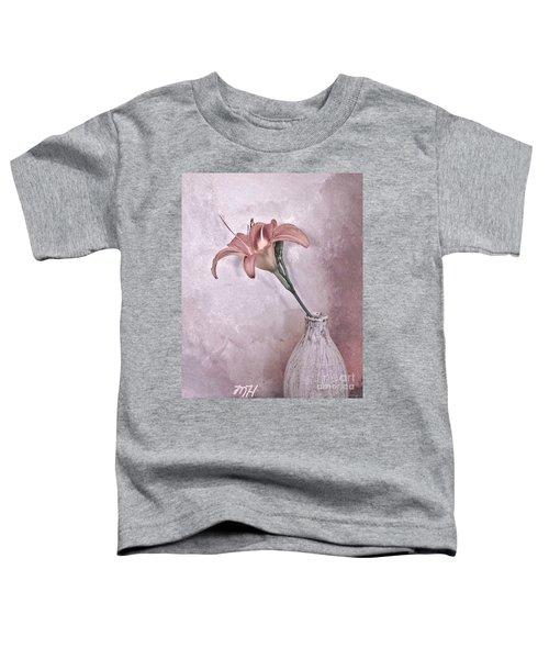 Mauve Lily Toddler T-Shirt