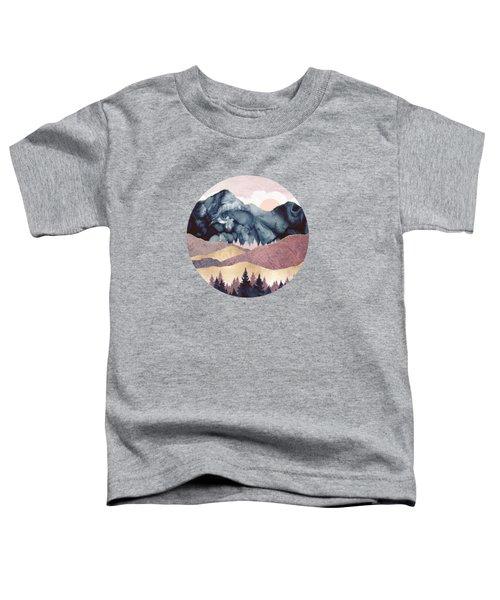 Mauve Vista Toddler T-Shirt