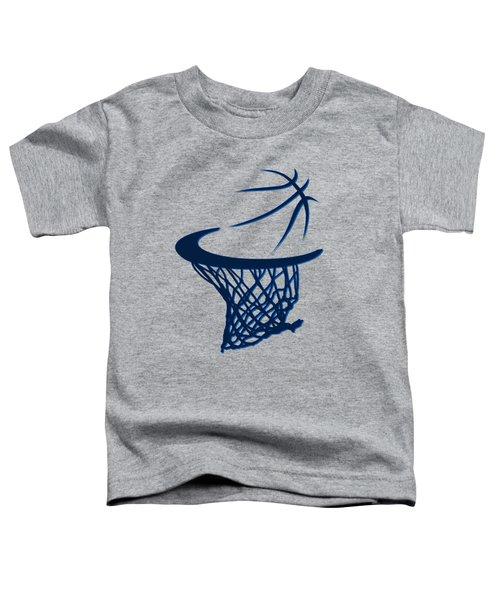 Mavericks Basketball Hoops Toddler T-Shirt by Joe Hamilton