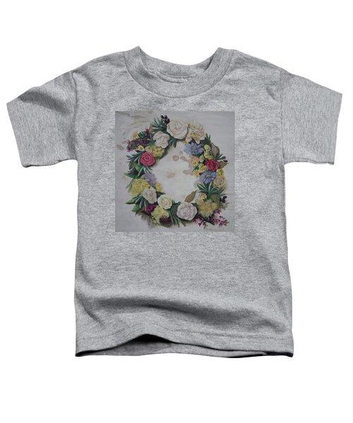 May Wreath Toddler T-Shirt