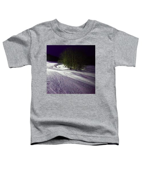 Toddler T-Shirt featuring the photograph Mccauley Evening Snowscape by David Patterson