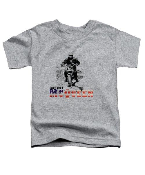 Mcqueen Isdt 1964 Toddler T-Shirt
