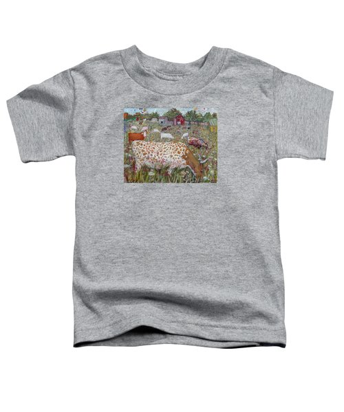 Meadow Farm Cows Toddler T-Shirt
