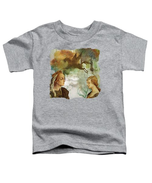 Medieval Dreams Toddler T-Shirt by Terry Fleckney