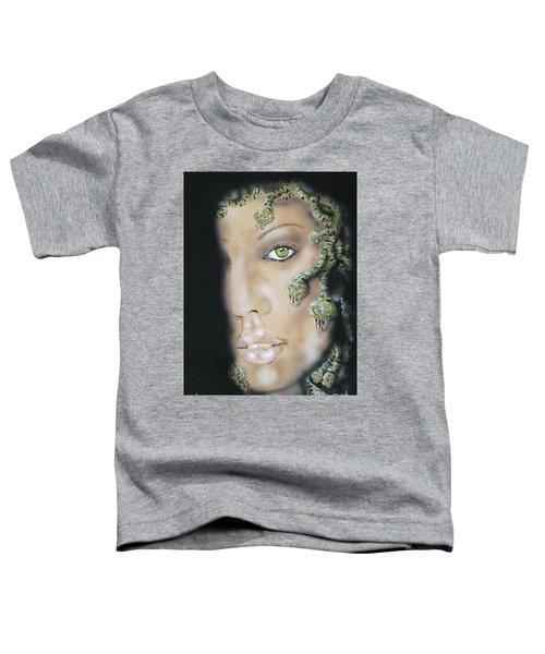 Medusa Toddler T-Shirt by John Sodja