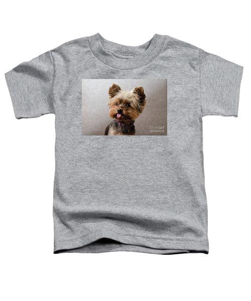 Melanie In Grey Toddler T-Shirt