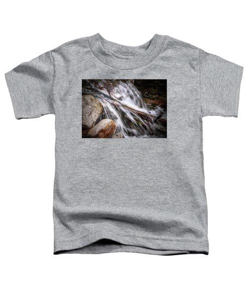 Melting Snow Falls Toddler T-Shirt