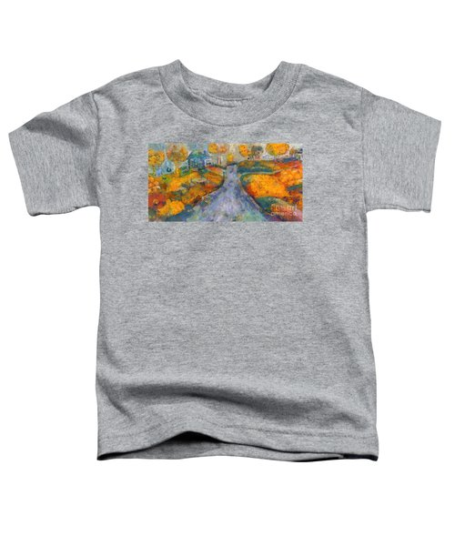 Memories Of Home In Autumn Toddler T-Shirt