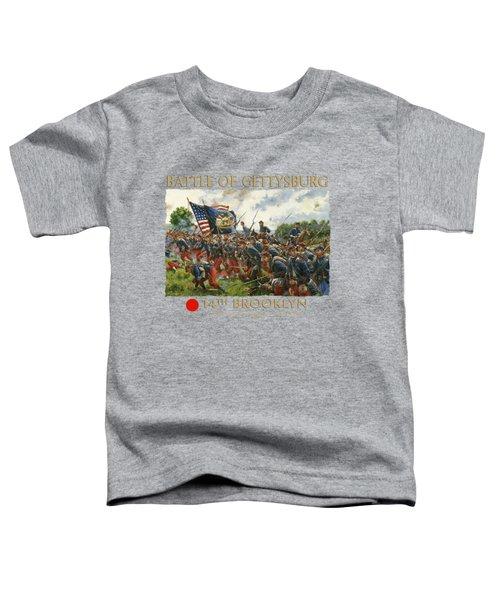 Men Of Brooklyn Toddler T-Shirt by Mark Maritato