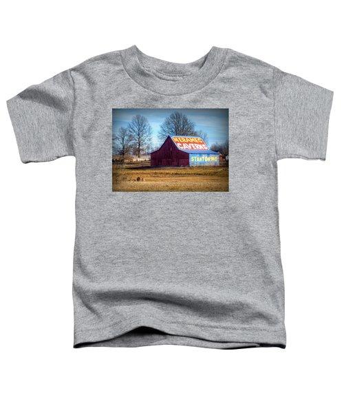 Meramec Caverns Barn Toddler T-Shirt