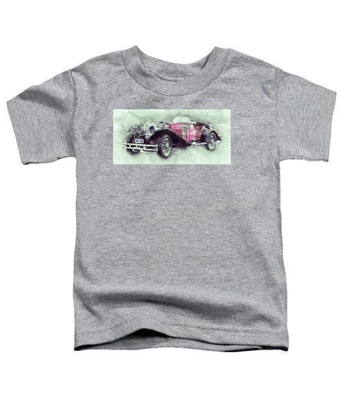 Mercedes-benz Ssk 3 - 1928 - Automotive Art - Car Posters Toddler T-Shirt