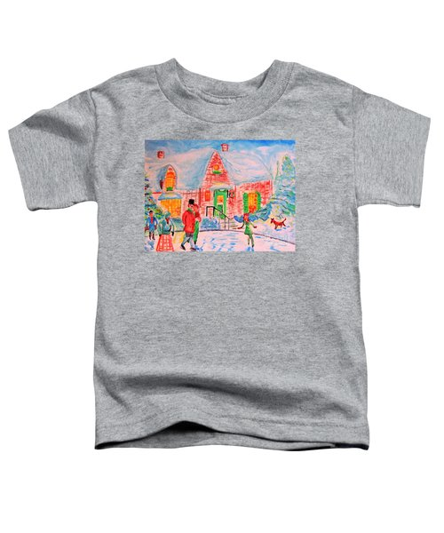 Merry Christmas And Happy Holidays Toddler T-Shirt