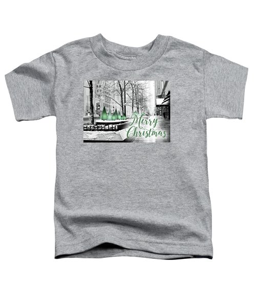 Merry Christmas Chicago Toddler T-Shirt