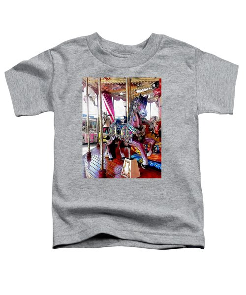 Merry Go Round Horses Toddler T-Shirt