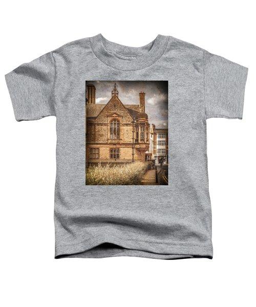 Oxford, England - Merton Street Toddler T-Shirt