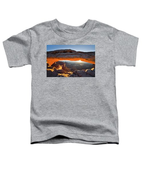 Toddler T-Shirt featuring the photograph Mesa Arch 3 by Whit Richardson