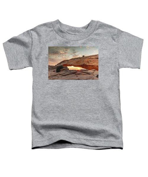 Mesa Arch At Sunrise Toddler T-Shirt