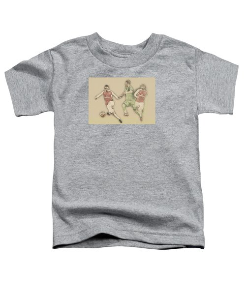 Mesut Ozil Toddler T-Shirt by Don Kuing