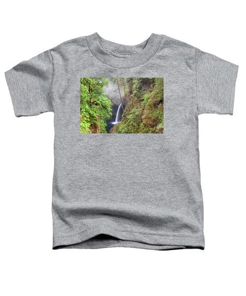 Metlako Falls In Columbia River Gorge Toddler T-Shirt