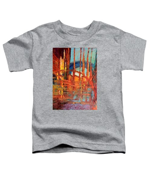 Metropolis In Space Toddler T-Shirt