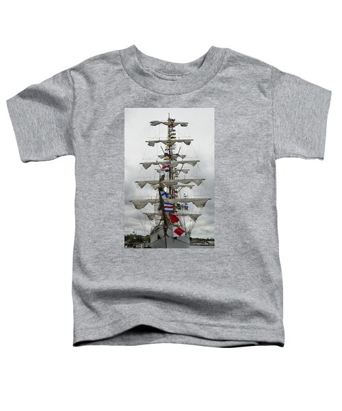 Mexican Navy Ship Toddler T-Shirt
