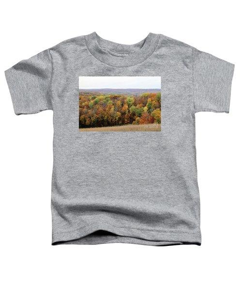 Michigan Autumn Toddler T-Shirt