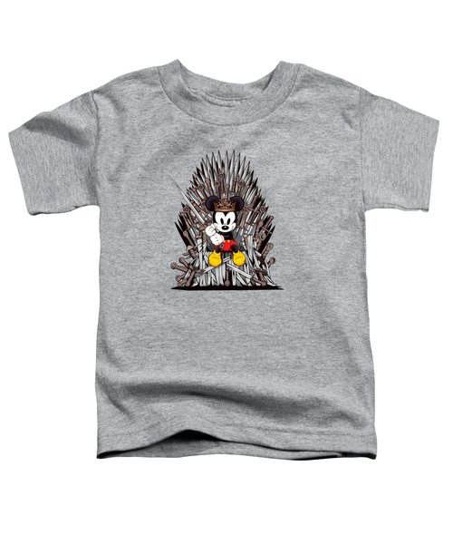 Mickey Thrones Toddler T-Shirt