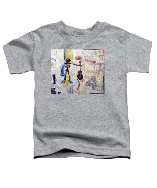 Middle-aged Musician Toddler T-Shirt