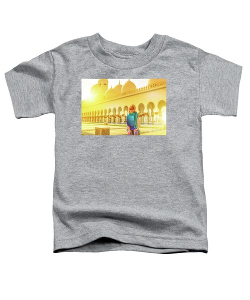 Middle East Tourism Concept Toddler T-Shirt