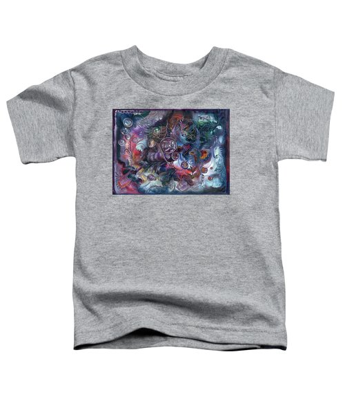 Midnight Dancing Bubbles Toddler T-Shirt