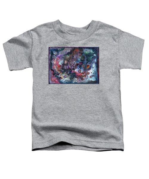 Midnight Dancing Bubbles Toddler T-Shirt