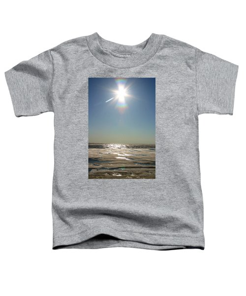 Midnight Sun Over The Arctic Toddler T-Shirt