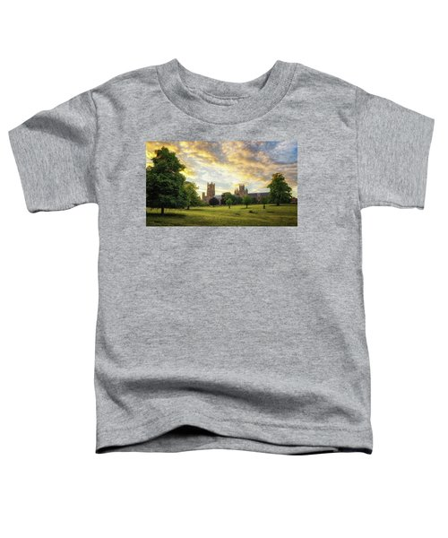 Midsummer Evening In Ely Toddler T-Shirt