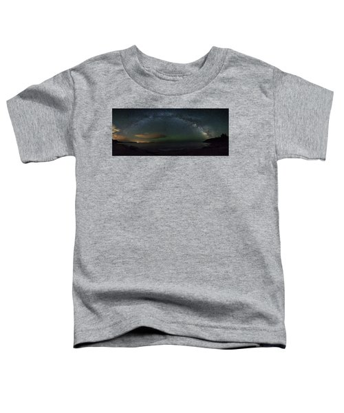 Milky Way Arch Toddler T-Shirt