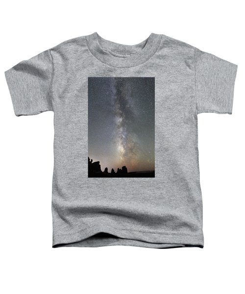 Milky Way Over Arches Np Two Toddler T-Shirt