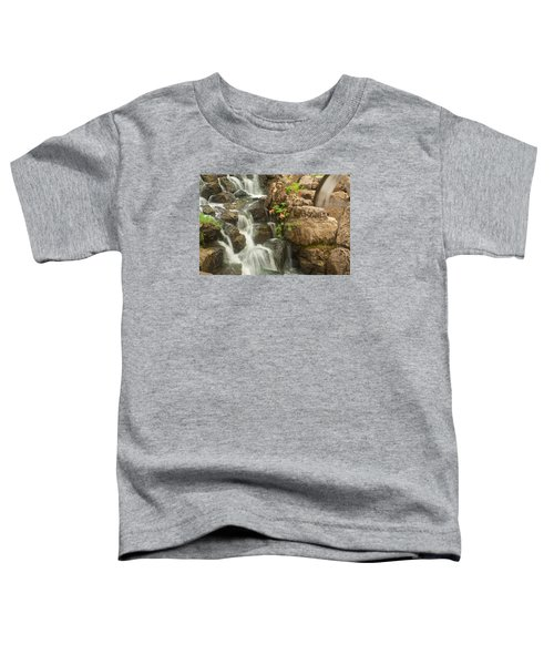 Mill Wheel With Waterfall Toddler T-Shirt