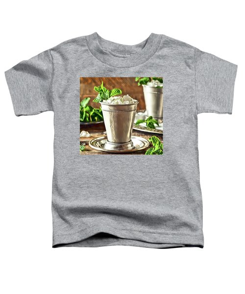 Mint Julep Double Toddler T-Shirt