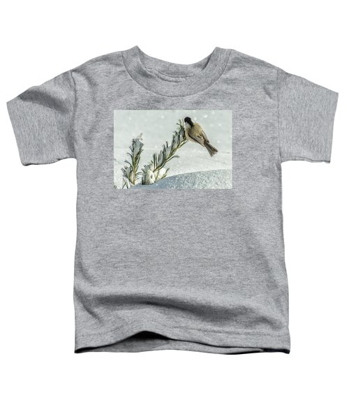 Minus Twenty Three Degree Morning.... Toddler T-Shirt