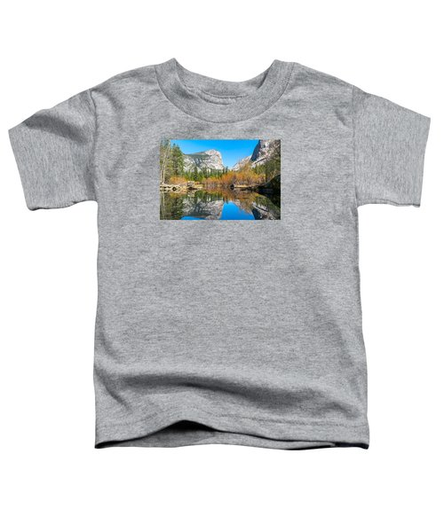 Mirror Lake Yosemite Np Toddler T-Shirt