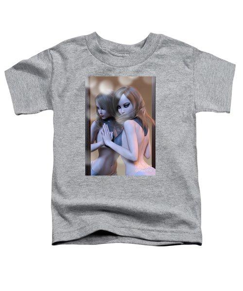 Mirrored Gaze Toddler T-Shirt