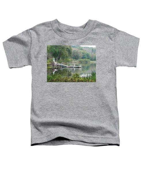 Mirrored Pier Toddler T-Shirt
