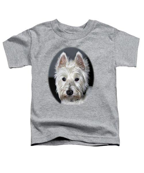 Mischievous Westie Dog Toddler T-Shirt