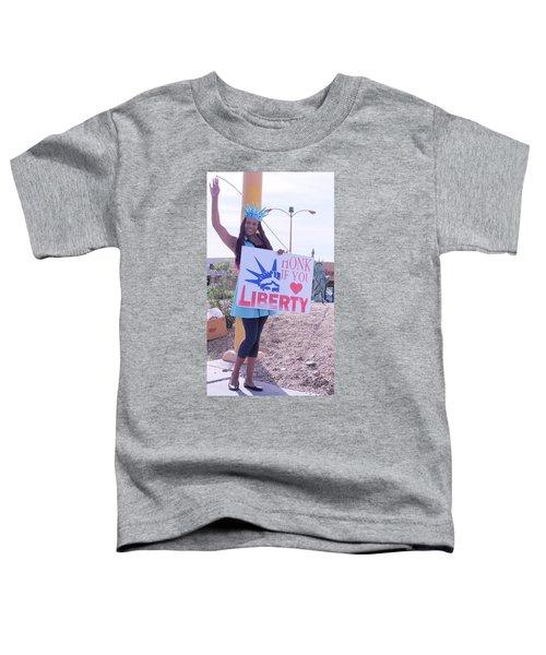 Miss Liberty Toddler T-Shirt