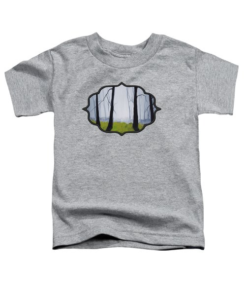 Misty Forest Toddler T-Shirt by Anastasiya Malakhova