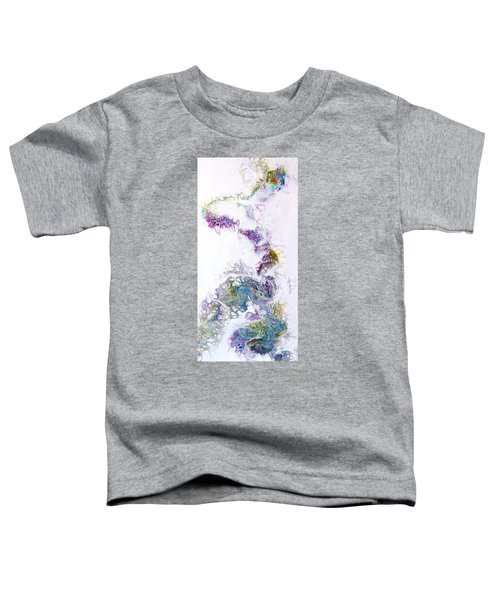 Toddler T-Shirt featuring the painting Misty by Joanne Smoley