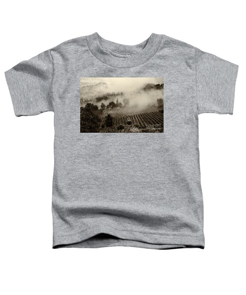 Misty Morning Toddler T-Shirt by Silvia Ganora