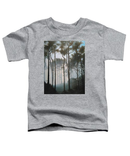 Misty Morning Walk Toddler T-Shirt