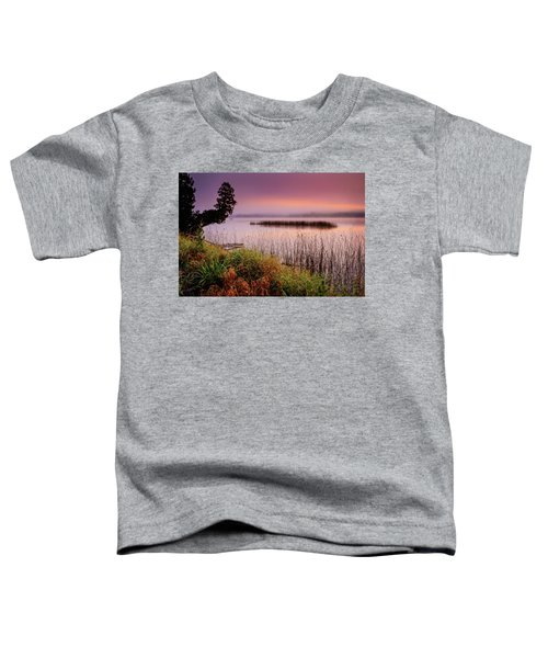 Misty Sunrise Toddler T-Shirt