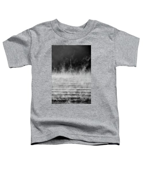 Toddler T-Shirt featuring the photograph Misty Twister by Doug Gibbons
